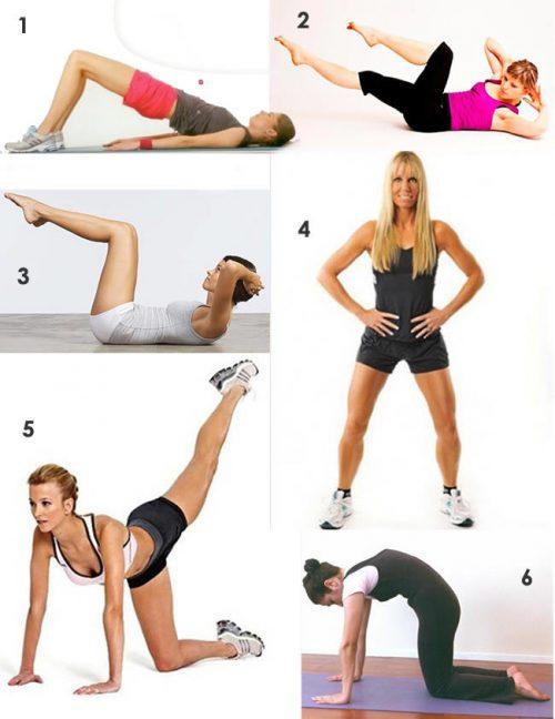 Spor Egzersizleri & Evde Kolay Yapılan Egzersizler