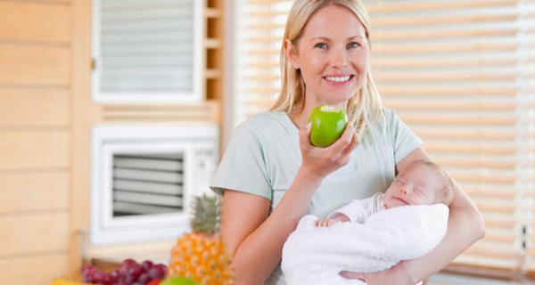 bebek-emziren-anne-nasil-beslenmeli Emziren Anne Diyeti 🤱 Ne Yemeli | Doğum Sonrası Beslenme