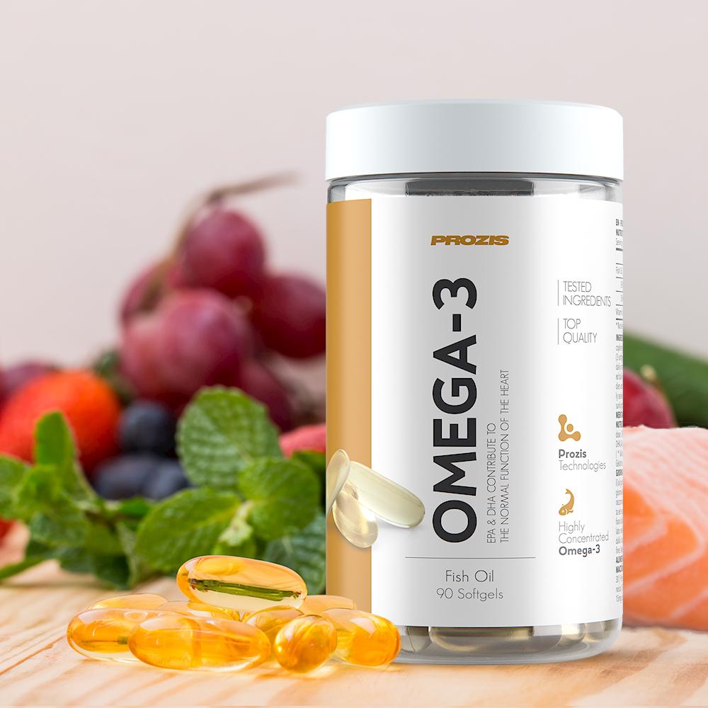 v593052_prozis_omega-3-90-softgels_newin Bağışıklık Sistemi Nedir ve Nasıl Güçlendirilir?